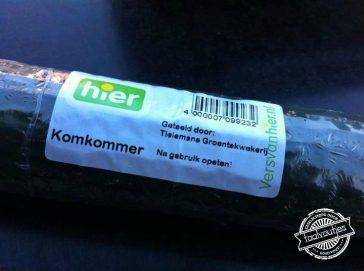 Deel 1 in de serie Multifunctionele Groente: De komkommer
