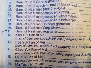Vegetariërs, pas op bij deze Chinees!