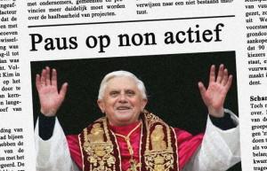 paus op non actief