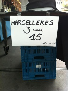 Ik heb één Marcel thuis, die vergt al genoeg onderhoud.