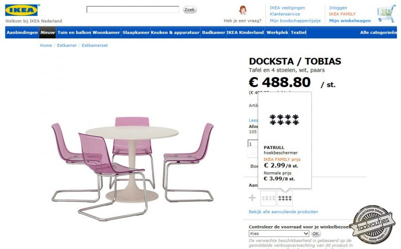 Gallery of great cheap ronde eettafel wit ikea ronde tafel for Ikea fusion tafel