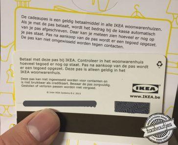 Hè jammer, ik had me net verheugd op een Ikea-date!