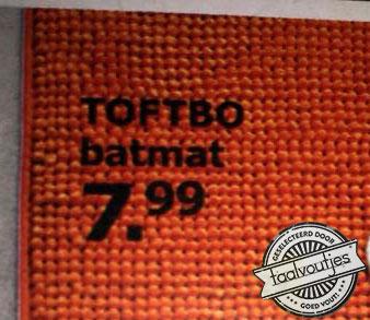 Batmat- Ikea