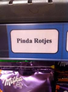 Pas op voor ontploffende pinda's!