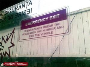 Dan moet je wel een legervoertuig voorhanden hebben
