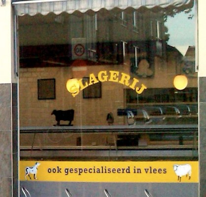 slagerij ook gespecialiseerd in vlees