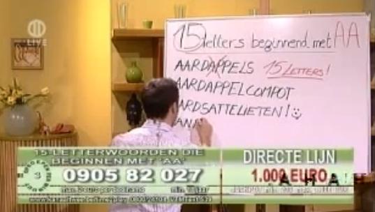 Video: taalvouten op de Belgische televisie