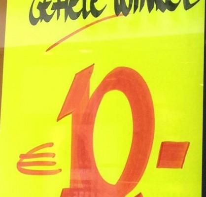 gehele winkel €10,-