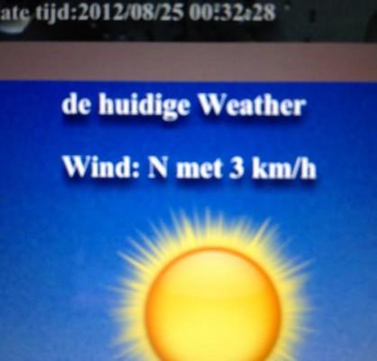 huidige weather