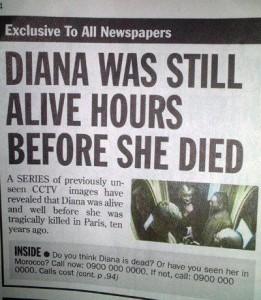 Wat gek, leven voordat je doodgaat!