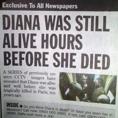 alive before she died