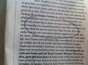 Hopelijk is Claes Iversen niet te ver weg!
