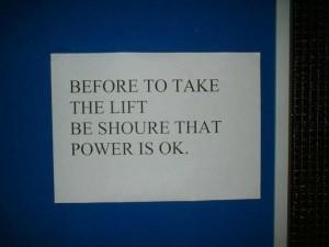 Dus moet je dan je vingers in het stopcontact steken?