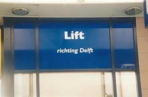 Nieuw: Delft is nu ook per lift bereikbaar!