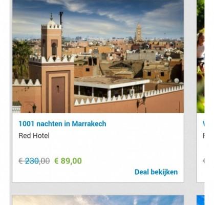 1001 nachten in Marrakech
