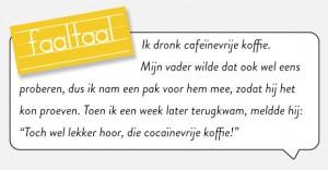 Cocaïnevrije koffie