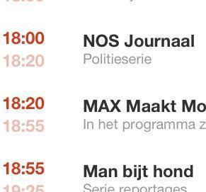 Politieserie NOS-journaal