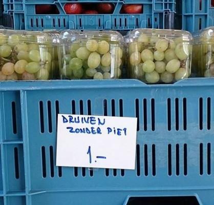 druiven zonder piet
