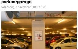 Parkeren in parkeergarage