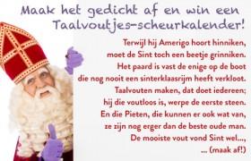 Sinterklaas rijm afmaken