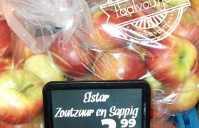elstar zoutzuur appels