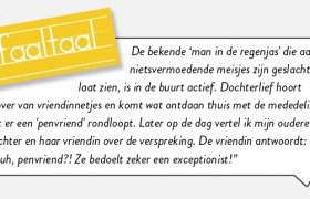 Faaltaal: exceptionist