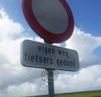 fietsers gedood of gedoogd?