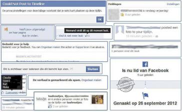 Ah Facebook, bron van taalvoutjesvermaak!