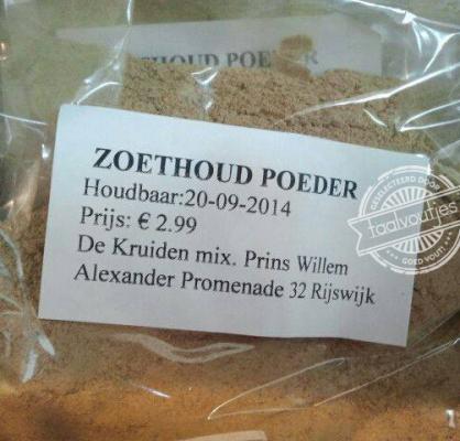 zoethoud