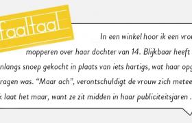 Faaltaal_publiciteitsjaren