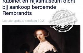 Rijksmuseum dicht