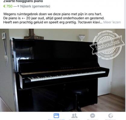 we doen een piano