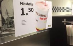 mikshake of milkshake