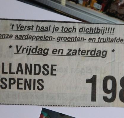 Hollandse bospenis