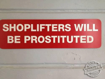 Who said crime doesn't pay?