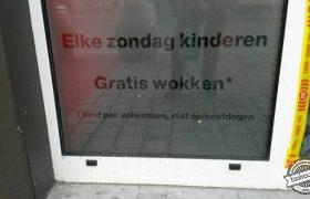 Kinderen gratis wokken