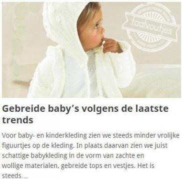 Gehaakte baby's zijn zó 2014!
