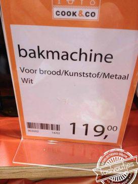 Je moet het ijzer smeden… in je bakmachine