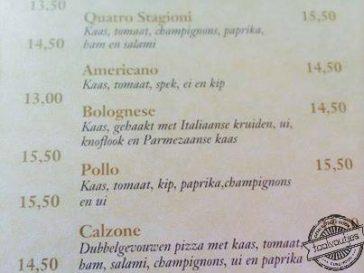 Ober, er zit een haaknaald in mijn pizza!