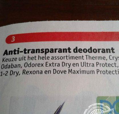 anti-transparant