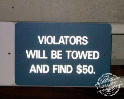 violators find $50