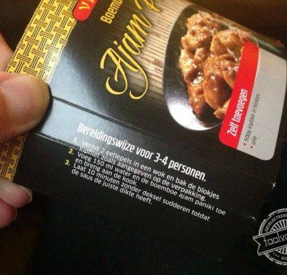 Eetlepels in wok