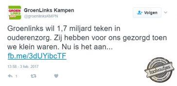 GroenLinks wil graag samenwerken met de Partij voor de Dieren.