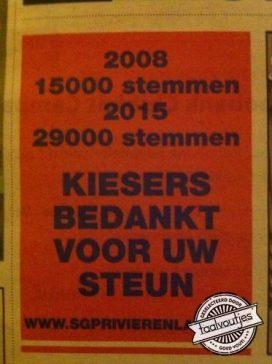 De SGP heeft andere belangen dan correct Nederlands taalgebruik.