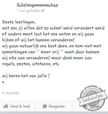 Meer Nederlandse les?
