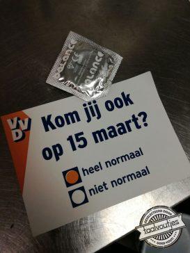 De VVD houdt wel van een woordgrap op z'n tijd.