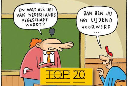Lang leve cartoonisten: de 20 leukste taalgrappen in beeld