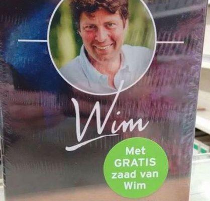 Gratis zaad van Wim
