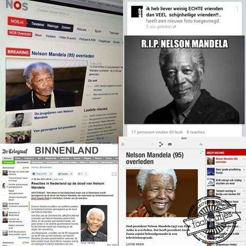Morgan Freeman is Nelson Mandela