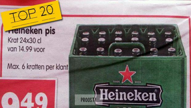 Proost! 20 alcoholische – hik! – voutjes